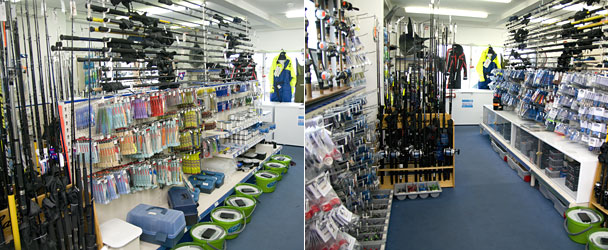 Guernsey fishing tackle shop boatworks st peter port for Fishing equipment stores