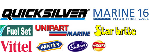 A wide range of nautical provisions and marine supplies.